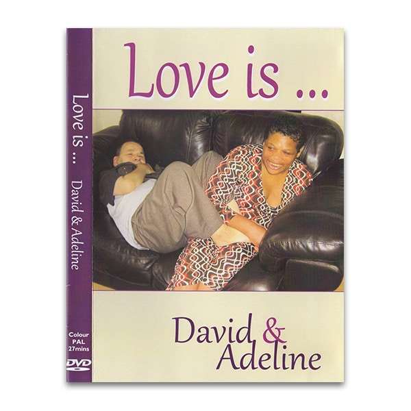 Love is ... David & Adeline