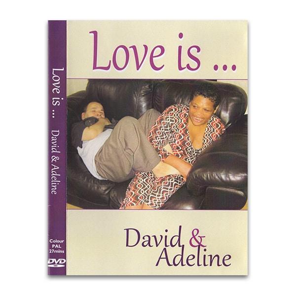 Love is ... David & Adeline